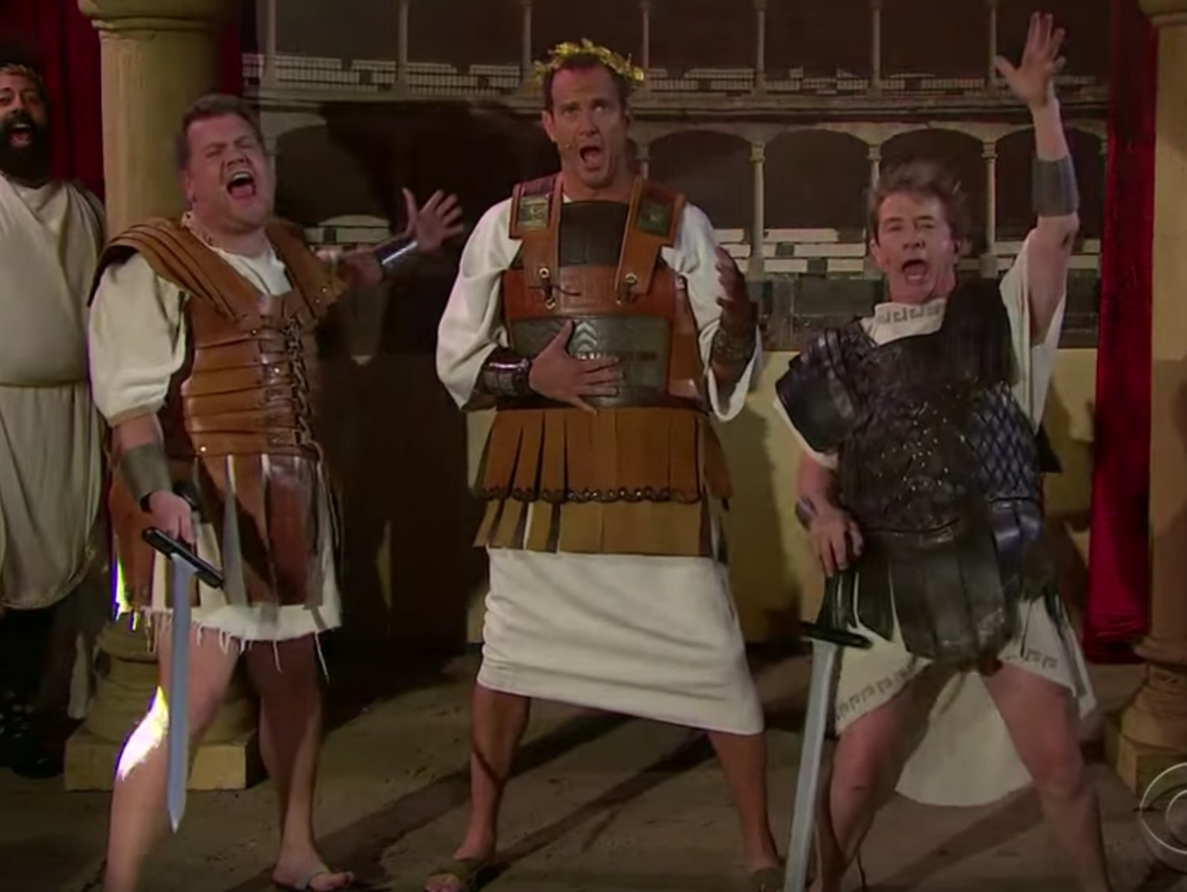 James Corden, Martin Short, and Will Arnett created some inappropriate musicals