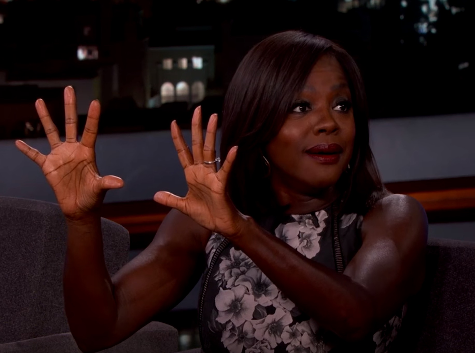 Viola Davis is feeling better after that awkward injury during a sex scene