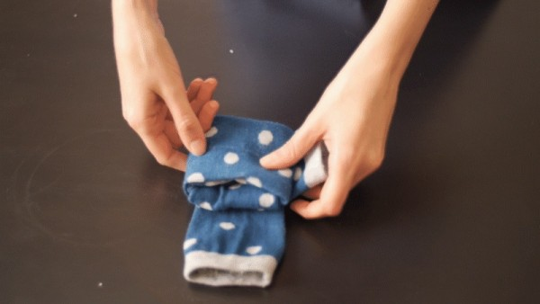So, apparently, you've been folding socks wrong your whole life