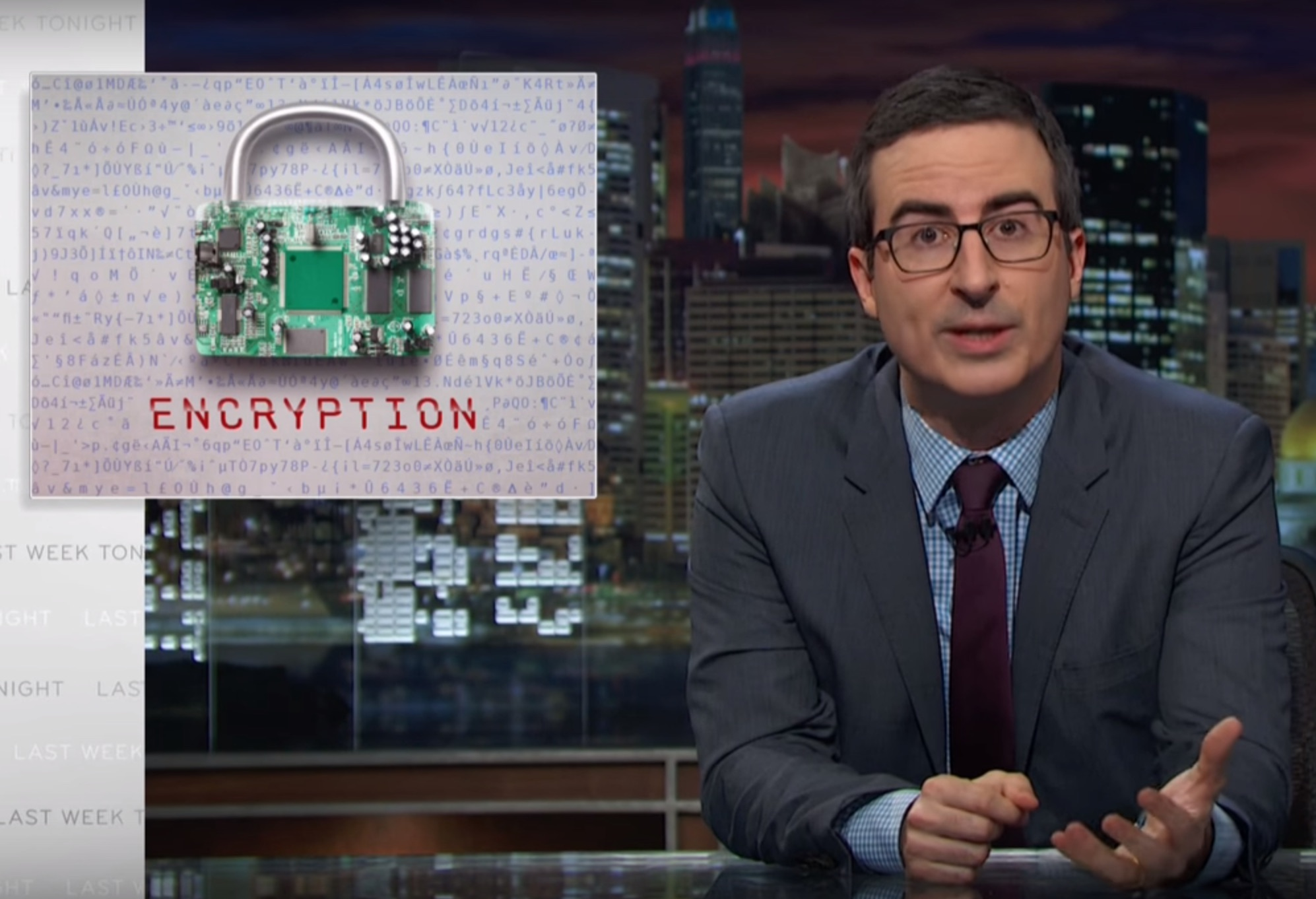 John Oliver explained a side of technology we probably don't think about