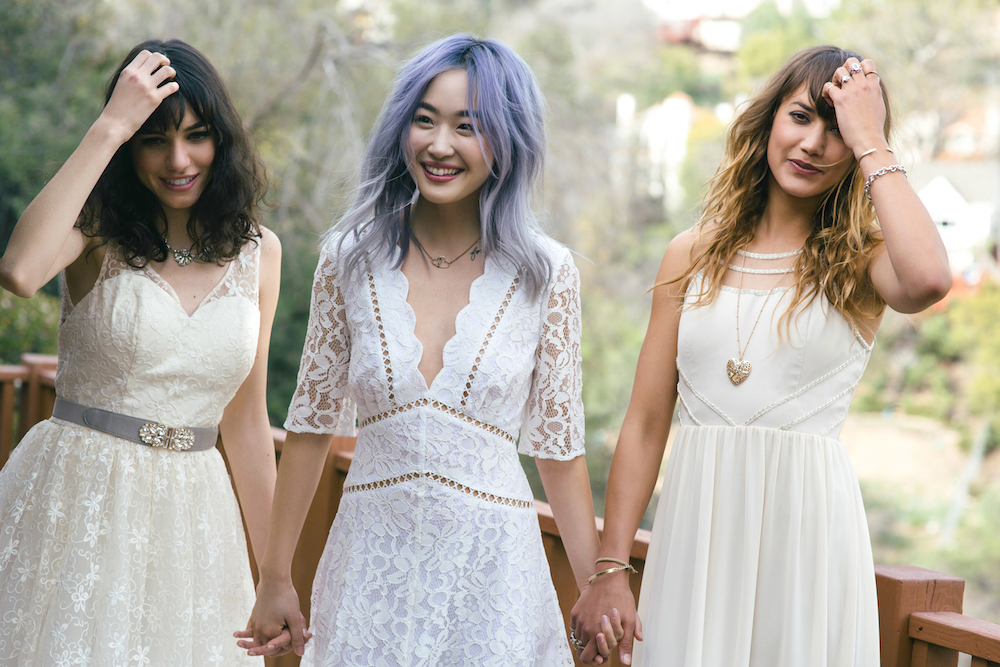 Modcloth just launched an affordable bridal line, and the dresses are stunning