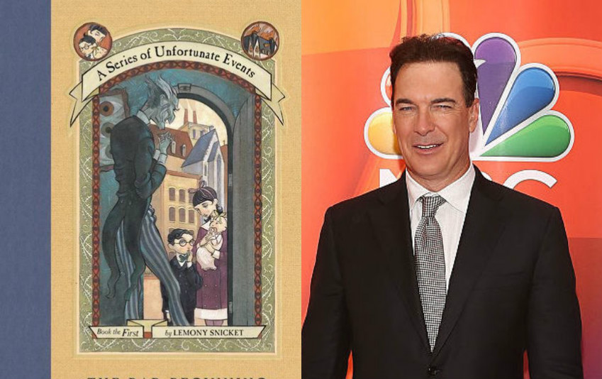 Patrick Warburton is our new Lemony Snicket!