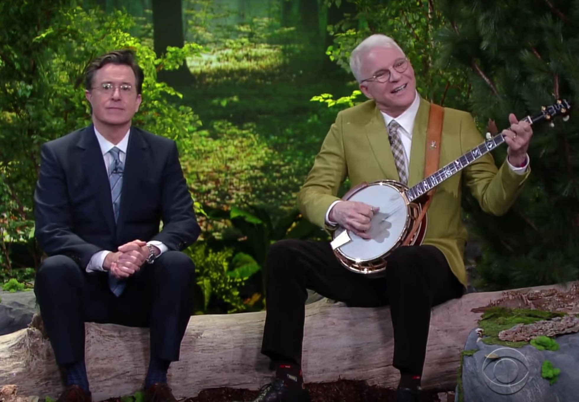 Stephen Colbert and Steve Martin's song about friendship is too funny