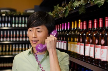 Barefoot Wine's #WineLine helps you pick the perfect bottle to impress your S.O.'s parents