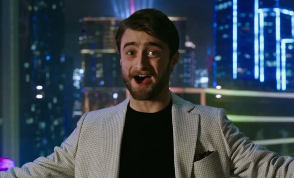 "Watch Daniel Radcliffe try magic without a wand in the new ""Now You See Me"" trailer"