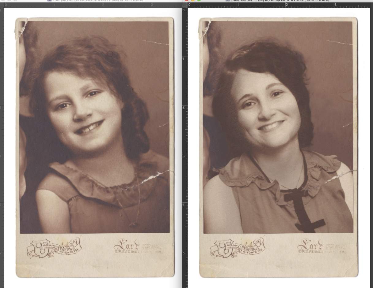 I recreated beloved family photos, and learned some very profound lessons