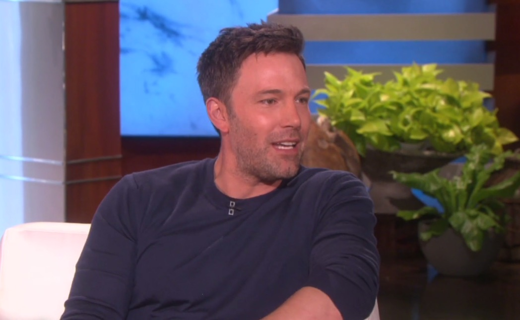 Ellen scares grown-man Ben Affleck with Wonder Woman