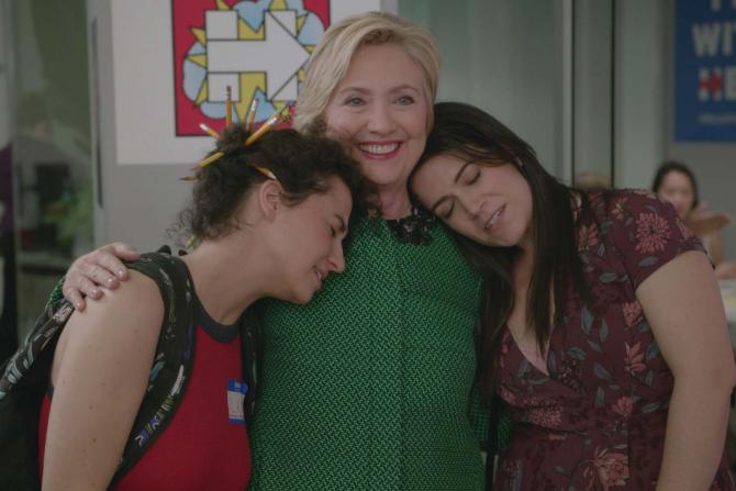 """All our favorite moments from Hillary Clinton's """"Broad City"""" cameo"""