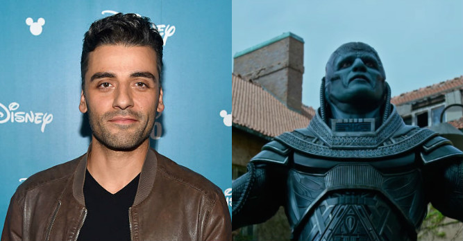"Oscar Isaac is completely different but also exactly the same in the ""X-Men: Apocalypse"" trailer"