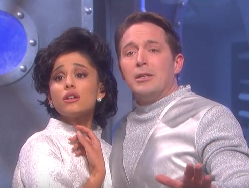 Ariana Grande's impression of this classic starlet is insanely spot-on