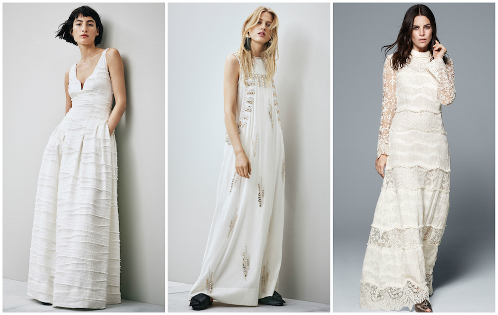 h m is releasing affordable wedding dresses and they are