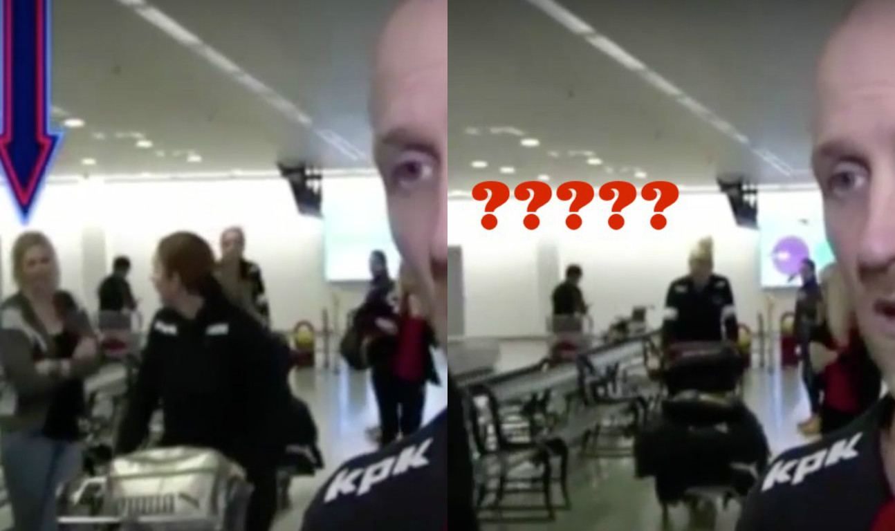 This video shows a woman disappearing into thin air and everyone is trying to figure out HOW