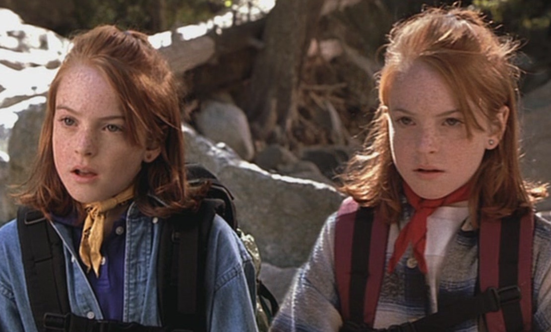 "Lindsay Lohan just recreated a scene from ""The Parent Trap"" and it's absolutely perfect"