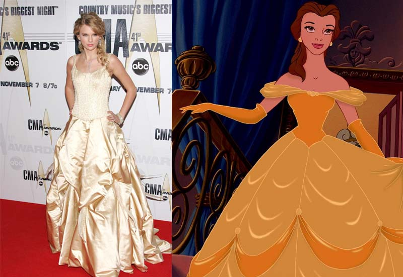9 times Taylor Swift dressed like a Disney Princess