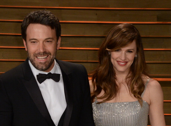 Ben Affleck just gushed about how lucky he is to have Jennifer Garner in his life