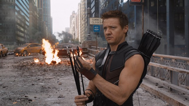 Hawkeye would be cool with his own Netflix show, if you're listening Netflix