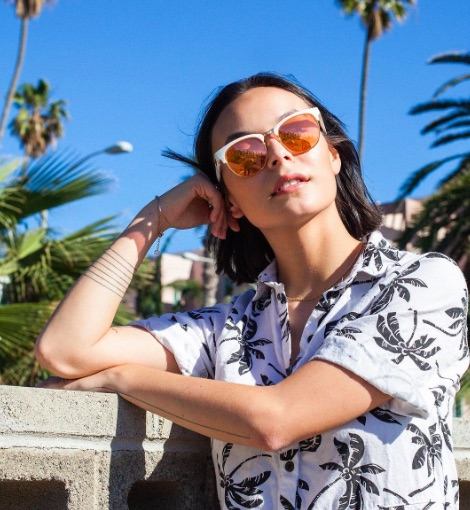 Celebrate spring with these rose-colored sunglasses