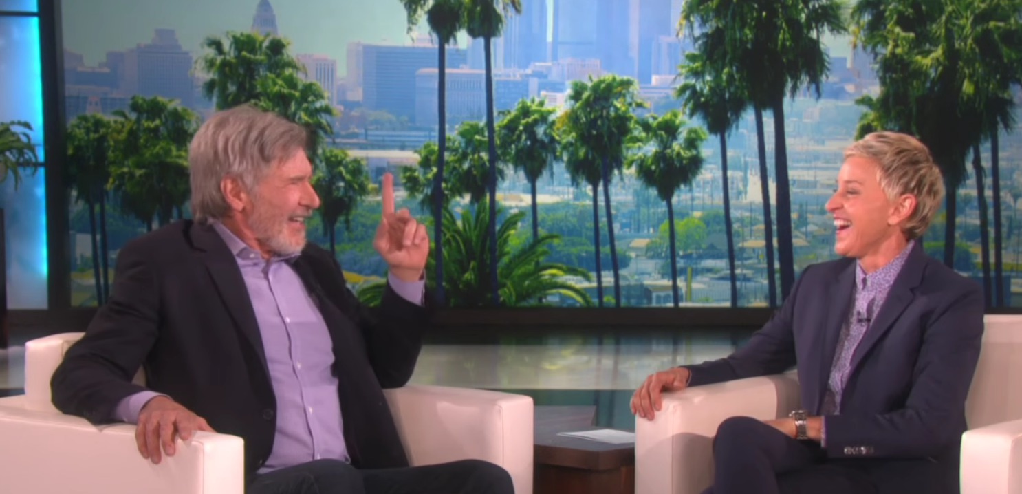 Harrison Ford has some surprising advice for the actors vying for that young Han Solo role