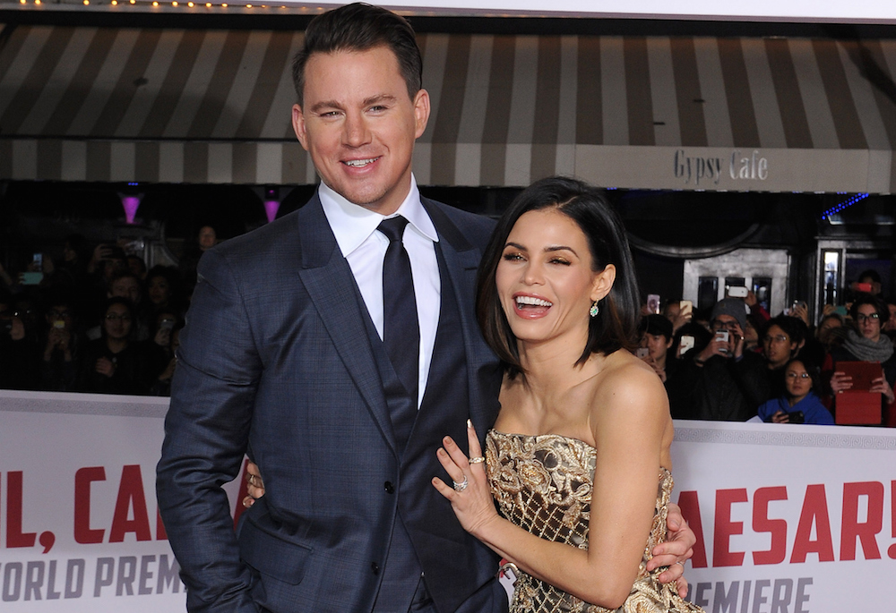 Jenna Dewan just shared the cutest throwback photo to when she first met Channing Tatum