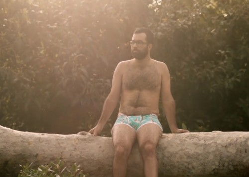 Aerie just released an awesome body positive underwear campaign for men