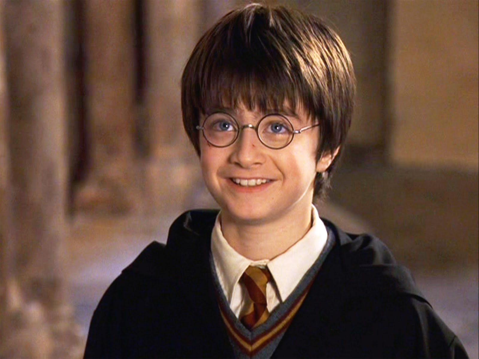 "Daniel Radcliffe just shared an intensely adorable throwback post with his ""Harry Potter"" costars"