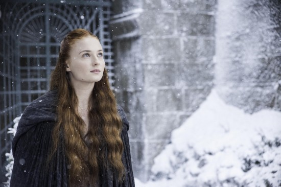"Sophie Turner has a death wish for Sansa Stark on ""Game of Thrones"""