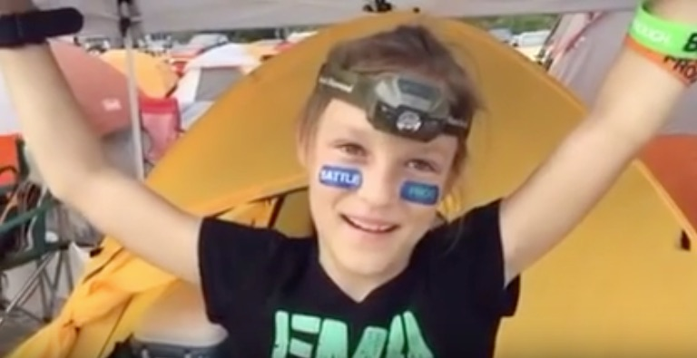 9-year-old girl crushes the Navy's adult obstacle course, is our new hero