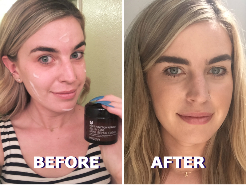 I put snail slime on my face in the name of beauty, and this is what happened