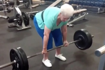 Watch this badass 78-year-old grandmother deadlift 225 pounds