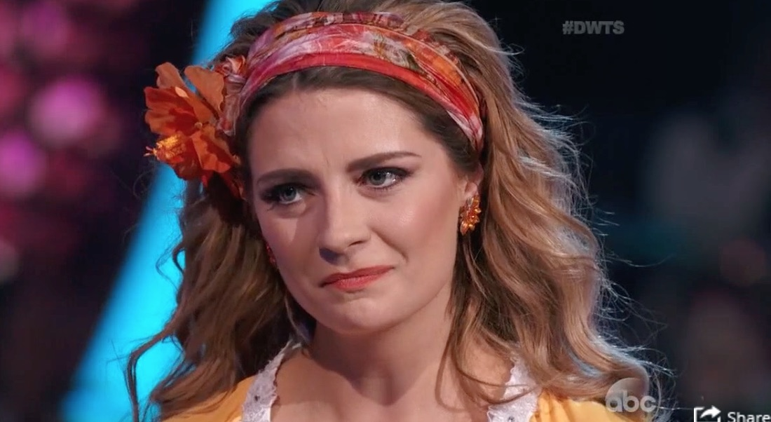 """Mischa Barton says she was sick on """"Dancing With The Stars"""""""