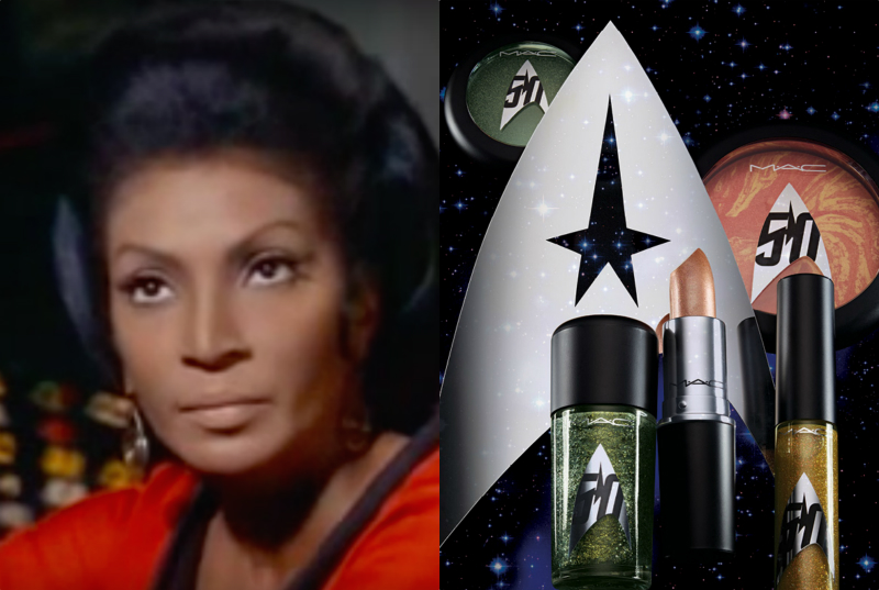 "MAC's beautiful new ""Star Trek"" collection will make you starry-eyed"