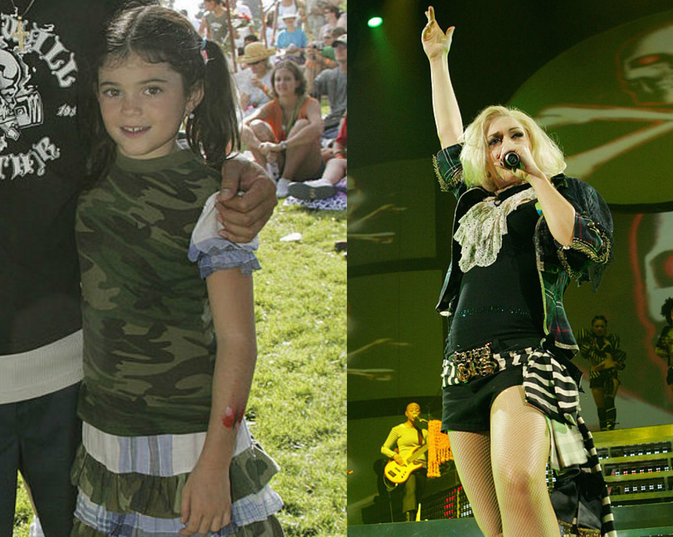 Watch this throwback video of a 7-year-old Kylie Jenner singing onstage with Gwen Stefani