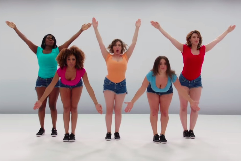 "Rachel Bloom stars in this brilliant, painfully accurate musical tribute to ""Heavy Boobs"""