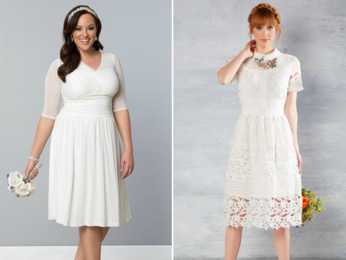 15 beautiful wedding dresses that you can easily re-wear to work