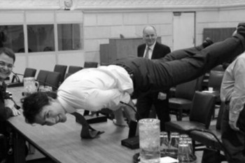 Justin Trudeau is amazing at yoga, wows the Internet