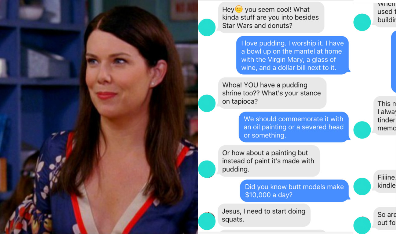 I Messaged Dudes On Tinder Using Only Lorelai Gilmore Quotes And It Was Weird