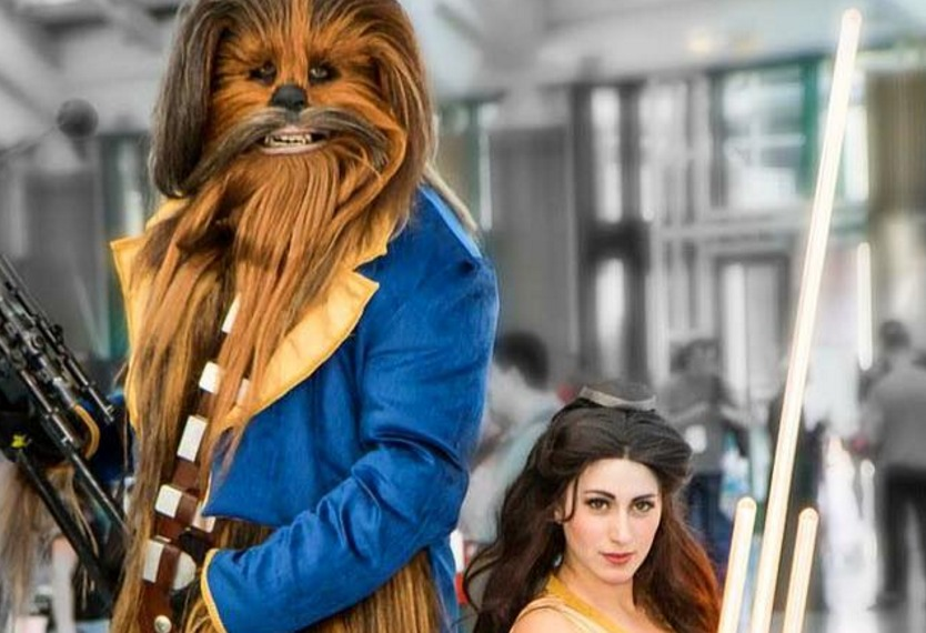 "This is the best ""Star Wars""/""Beauty and the Beast"" real life mashup we're ever going to see"