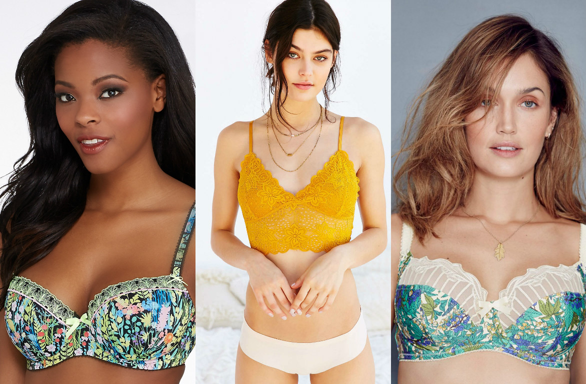 27 pretty bras that scream SPRINGTIME