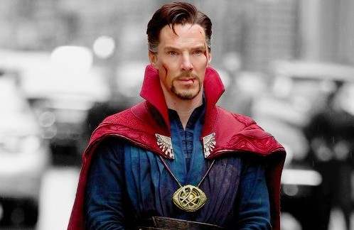 "New photos from Marvel's ""Doctor Strange"" show that no one wears a cape better than Cumberbatch"