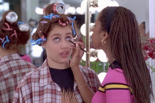 An ode to the pre-makeover style from some of my fave teen movies