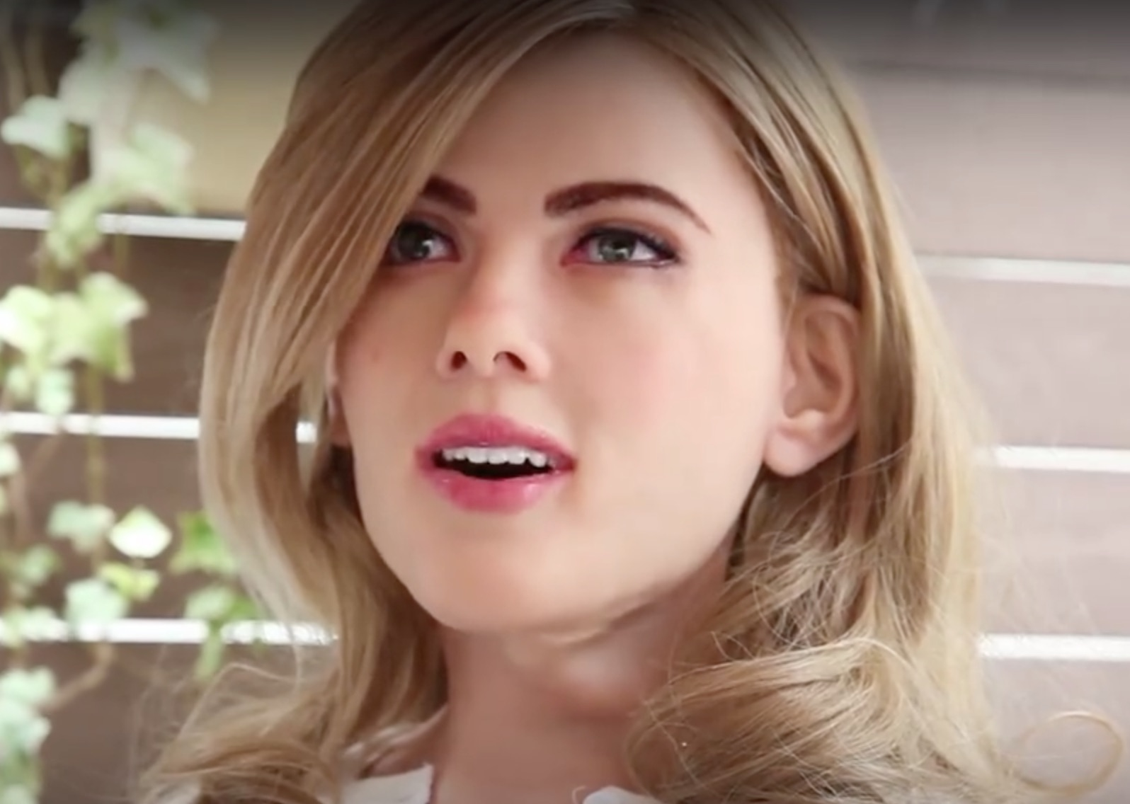 This robot looks like Scarlett Johansson and we're not sure how to feel about it