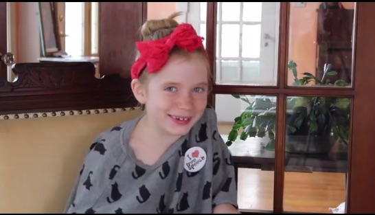Hats off to the 9-year-old reporter who broke a major news story this week