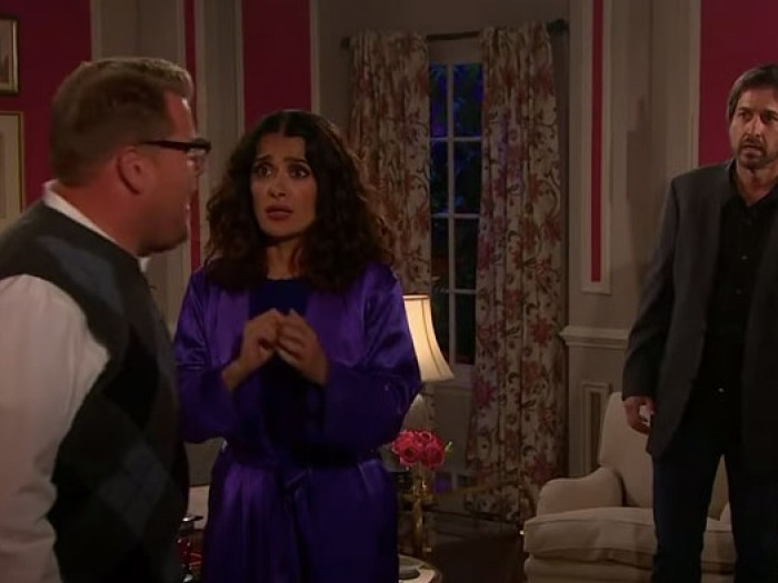 James Corden fakes it for Billy Crystal in When Harry
