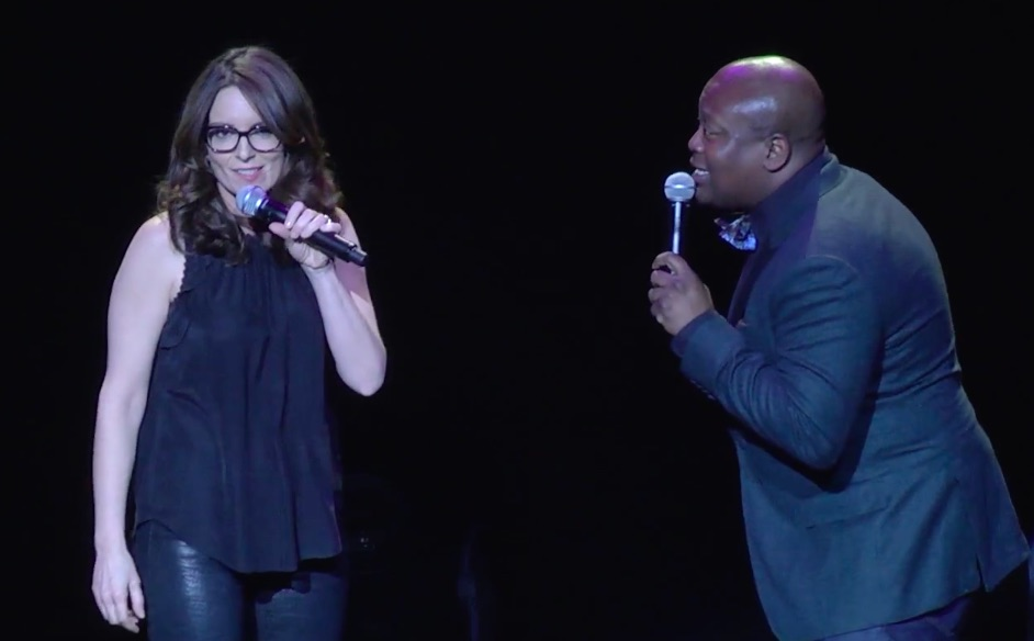 You need to watch Tina Fey totally crush this duet with Titus Burgess