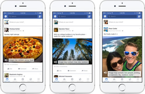 This amazingly cool feature translates images for blind Facebook users