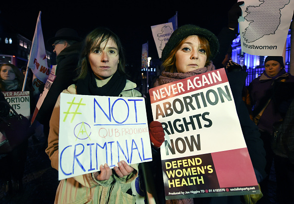 A Northern Ireland woman was legally punished for having an abortion