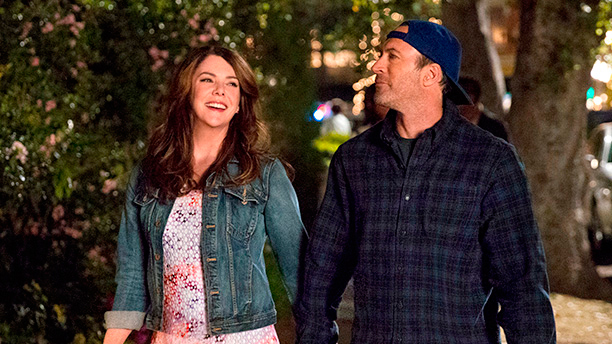 "We have new pics from the ""Gilmore Girls"" reboot, and we cannot keep chill"