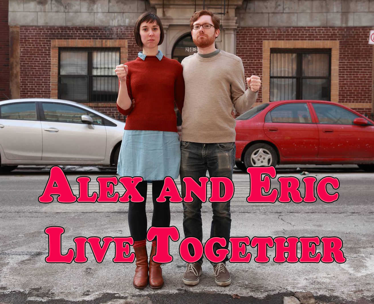 "Binge watch ""Alex and Eric Live Together"" right here!"