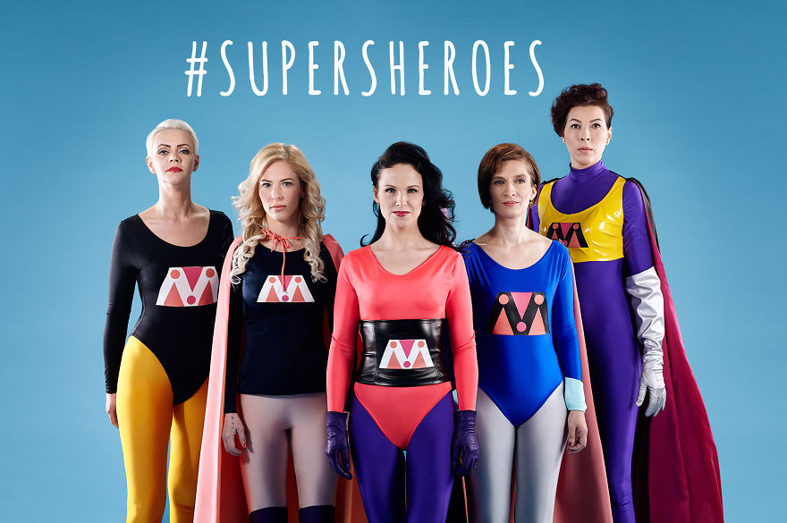 Abuse survivors become supersheroes to empower other women
