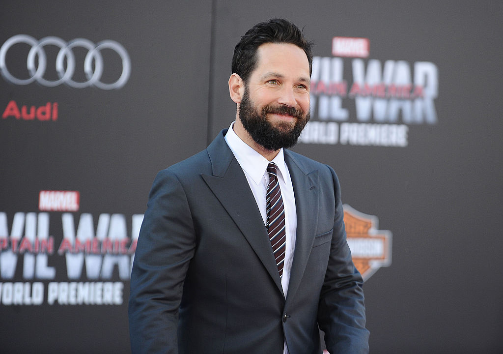 Paul Rudd yells at a fan in absolutely the most adorable way and we love him so much